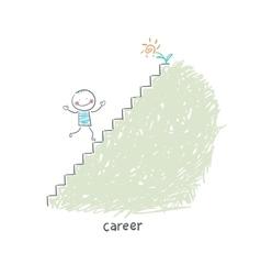 Career Ladder vector image