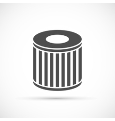 Car oil filter icon vector image vector image