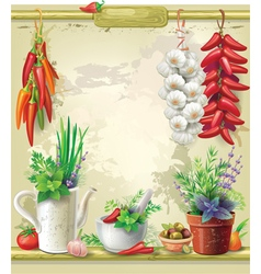 Country Still life vector image vector image
