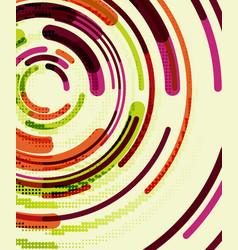 circular lines circles geometric abstract vector image