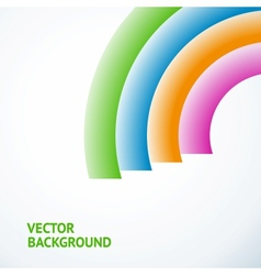 Colorful abstract composition vector image