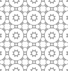 Delicate seamless ethnic pattern vector