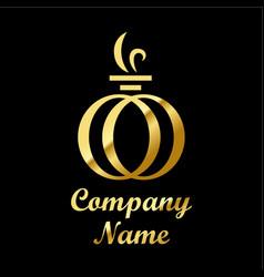 perfume logo vector image