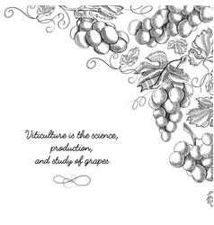 Corner frame scroll ornament sketch vector