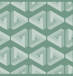 seamless geometric imagination pattern vector image vector image