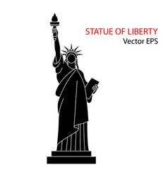 statue of liberty new york vector image vector image