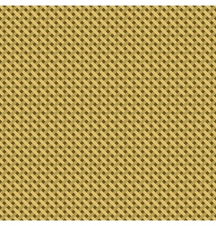 Woven canvas burlap seamless diagonal texture vector image