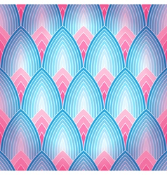 Seamless geometrical background vector image