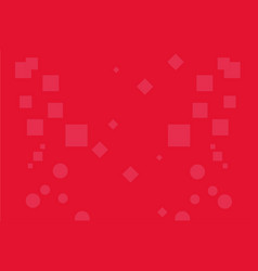 abstract background red rectangle circle cube bac vector image
