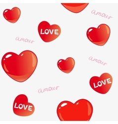 Amor background vector