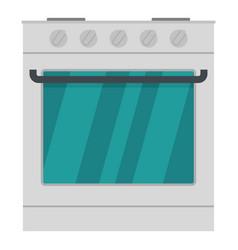 burner icon flat style vector image