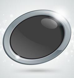 Button icon vector