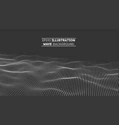 data technology abstract futuristic vector image