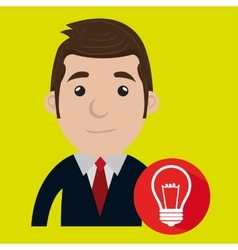 man adult work icon vector image
