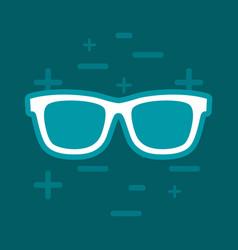 sunglasses icon image vector image