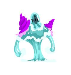 Water monster fantasy elemental creature vector