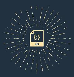 Beige js file document download js button icon vector