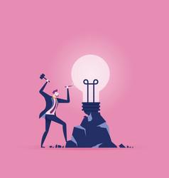 best ideas business people create ideas concept vector image