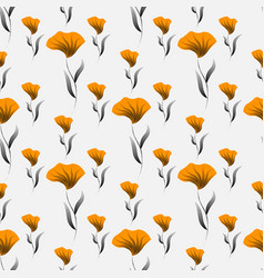 floral seamless pattern decorative background for vector image