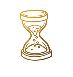 Hourglass icons vector