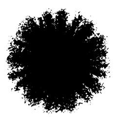 Ink Blotch Design Element vector image
