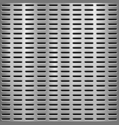 Metal textured technology perforated background vector