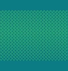 retro green zig zag background vector image