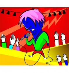 Singing vector