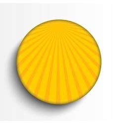 Sun burst circle on grey background Eps 10 vector