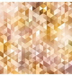 Triangle autumn color background vector