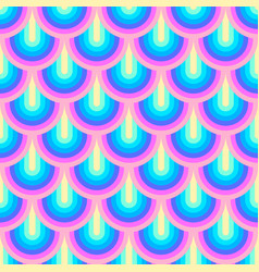 Unicorn rainbow stripes pattern neon pastel vector