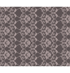 Classic vintage acanthus floral ornament pattern vector image vector image