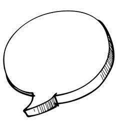 speech Bubble 2 vector image vector image