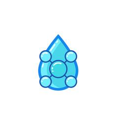 Acid icon vector