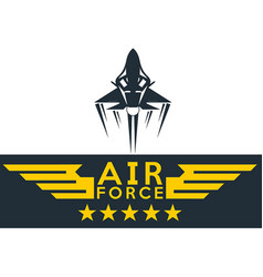 airforce design vector image