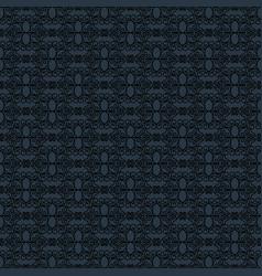 black outline pattern vector image