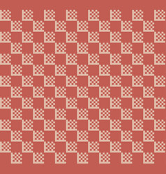 Checker pattern in red vector