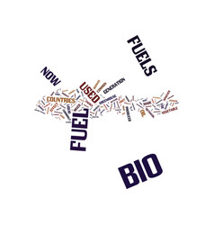 Energy what you need to know about bio fuels text vector