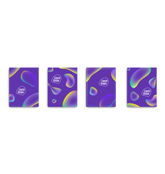 fluid ultra violet cover design applicable for vector image