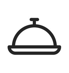 food tray icon vector image