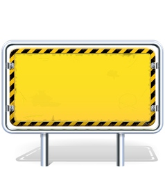 industrial billboard vector image