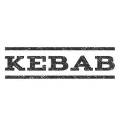 Kebab Watermark Stamp vector