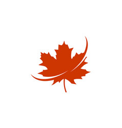 maple solution canada logo vector image