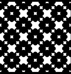 Ornamental seamless pattern crosses squares vector
