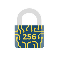 Sha 256 related icon vector