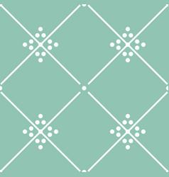 Tile green decorative floor tiles pattern vector