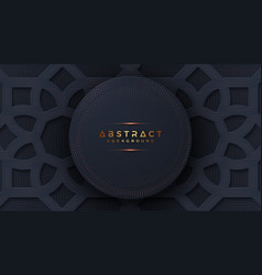 abstract luxury black background vector image