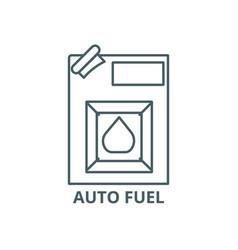 auto fuel line icon auto fuel outline vector image