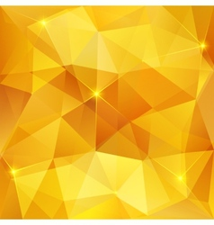 Honey crystal abstract pattern vector