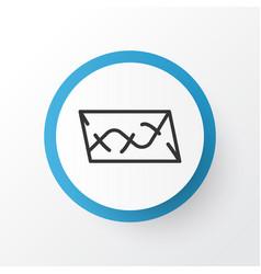 Roadmap icon symbol premium quality isolated vector